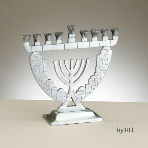 Jerusalem Lights Menorah MG-9995