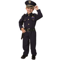 Deluxe Police Officer Costume Set